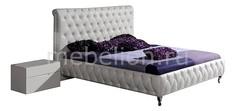 Кровать двуспальная Adriana 1.8 белый Dupen