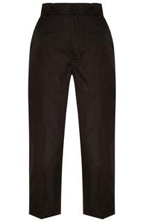 Черные широкие брюки Prada