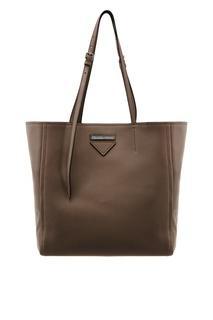 Черная сумка-шоппер Prada