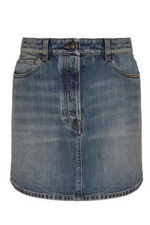 Джинсовая юбка Prada