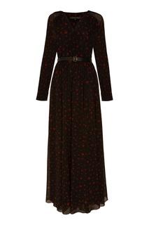 Платье макси с длинными рукавами Alexander Terekhov