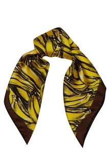 Контрастный платок с принтом Prada
