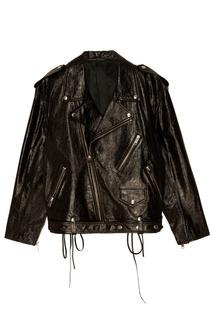 Короткая кожаная куртка Alexander Terekhov