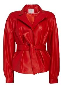 Красная кожаная куртка Nebo