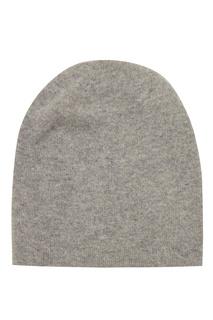 Серая шапка из кашемира Tegin