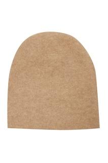 Бежевая шапка-бини Tegin