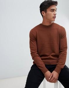 Джемпер в круглым вырезом Burton Menswear - Кремовый