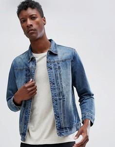 Светлая джинсовая куртка Dead Vintage - Синий