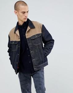 Темно-синяя джинсовая куртка Lee Rider - Синий