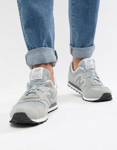Серые кроссовки New Balance 373 ML373GR - Серый