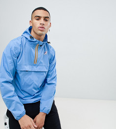 Синяя непромокаемая куртка K-Way Le Vrai 3.0 Leon - Синий