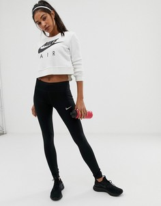 Леггинсы Nike Running Dri-Fit Power Essential - Черный