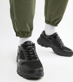 Черные кроссовки на массивной подошве для широкой стопы ASOS DESIGN - Черный