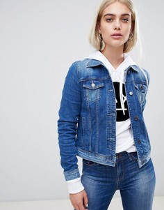 Джинсовая куртка Armani Exchange - Синий