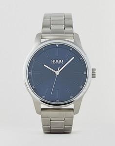 Серебристые часы-браслет HUGO 1530020 Dare - Серебряный