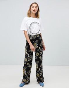 43dd45e710d0 Купить женские широкие брюки льняные в интернет-магазине Lookbuck