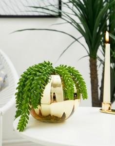 Золотистая ваза Bloomingville - Мульти
