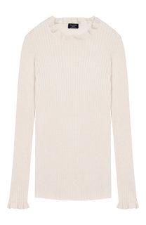 Пуловер из смеси хлопка и кашемира Dal Lago