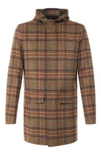 Кашемировое пальто на молнии с капюшоном Loro Piana