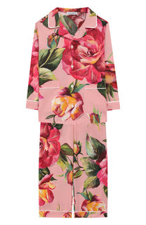 Хлопковая пижама Dolce & Gabbana