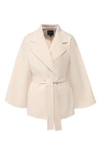 Пальто из смеси шерсти и кашемира Theory