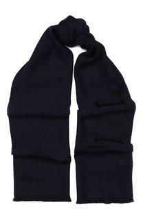 Шерстяной шарф с необработанным краем Billionaire