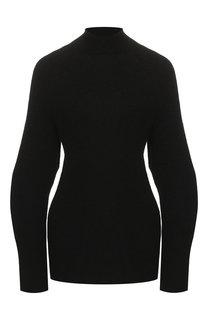 Шерстяной пуловер с декоративными разрезами Chloé