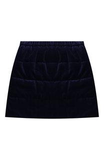 Бархатная мини-юбка Il Gufo