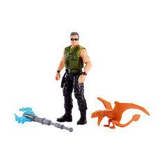 """Игровой набор Jurassic World """"Базовые фигурки"""" Наёмник и диморфодон Mattel"""