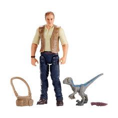 """Игровой набор Jurassic World """"Базовые фигурки"""" Оуэн с малышом Mattel"""