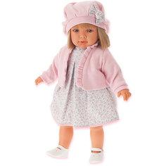 Кукла Juan Antonio Munecas Аделина в розовом, 55 см