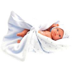 Кукла Juan Antonio Munecas Пепито в голубом, 21 см