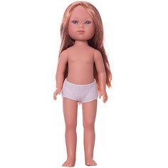 Кукла Vestida de Azul Карлотта рыжеволосая без чёлки, 28 см