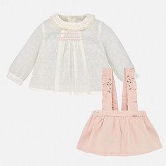 Комплект: блузка и юбка Mayoral для девочки