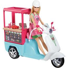 """Игровой набор Barbie """"Профессии"""" Бистро-скутер Mattel"""
