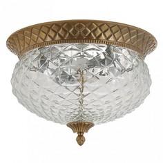 Накладной светильник HOLA PL4 BRONZE Crystal lux