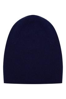 Синяя шапка из кашемира Tegin