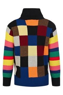 Цветной свитер Burberry Kids