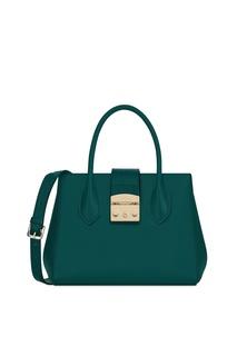 Маленькая зеленая сумка Furla