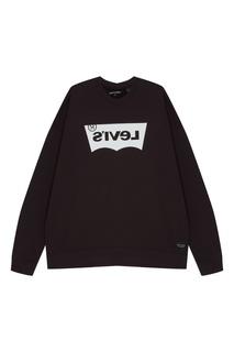 Черный свитшот с логотипом Levis®
