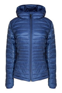 Синяя стеганая куртка Napapijri