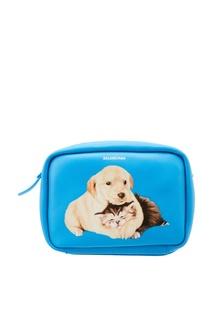 Голубая сумка с принтом Everyday XS AJ Balenciaga