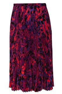 Яркая плиссированная юбка Balenciaga