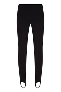Черные брюки со штрипками Moncler