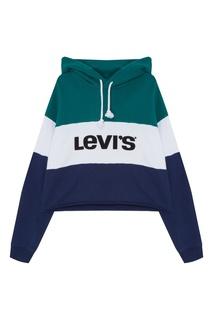 Комбинированное худи с логотипом Levis®