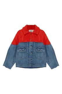 Комбинированная джинсовая куртка Levis®