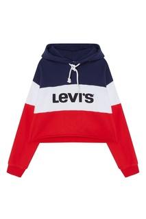 Контрастное худи с логотипом Levis®