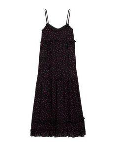 Длинное платье McQ Alexander Mc Queen