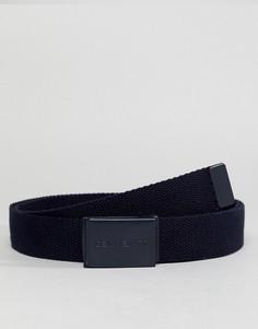 Темно-синий ремень с пряжкой-клипсой Carhartt WIP - Темно-синий