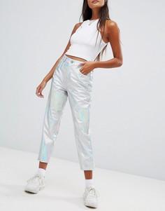 Джинсы в винтажном стиле с завышенной талией ASOS DESIGN Farleigh - Мульти